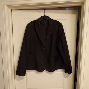 Talbots Black Wool Blazer
